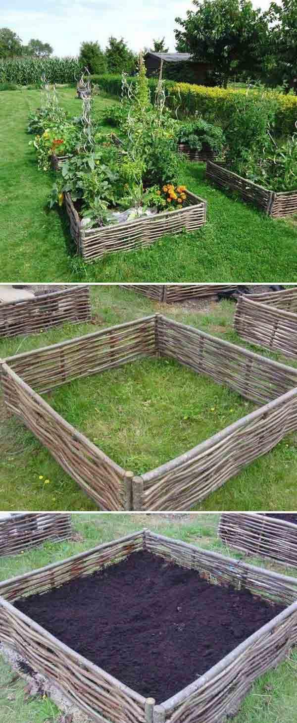 Garden Edging Ideas For Flower Beds Homsgarden