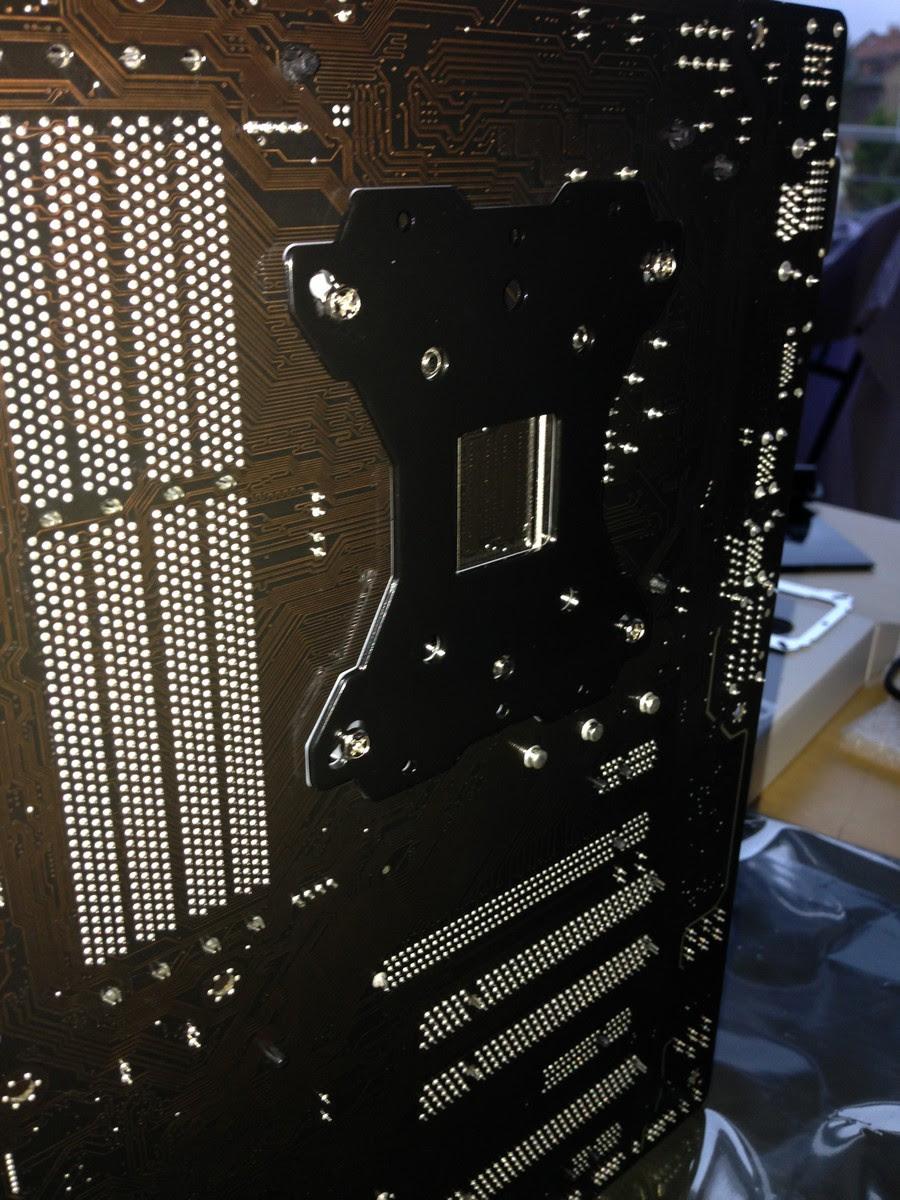 neuer Rechner für die Bildbearbeitung zusammenbau / new system for image processing mounting 003