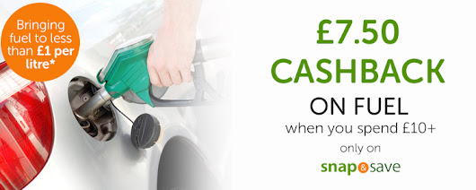 £7.50 Cashback on £10 Fuel Spend - New TopCashback Member Deal
