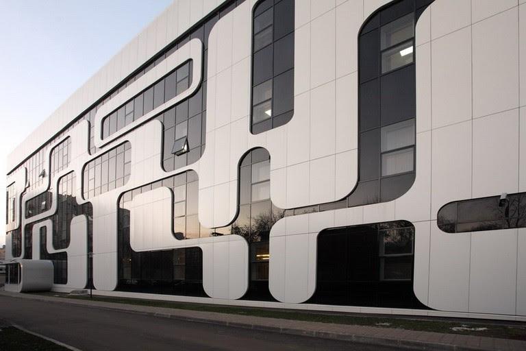 Наружная отделка промышленных зданий