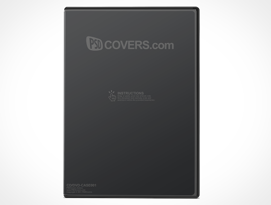 CD, DVD jewel case box cover | PSDCovers