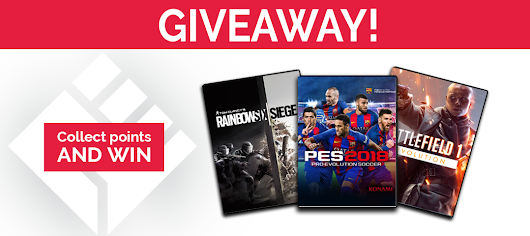 Welcome to Games Republic Giveaway!