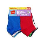 Hanes Toddler Boy's Ankle Socks, Assorted