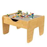 KidKraft Activity Play Table - Gray & Natural