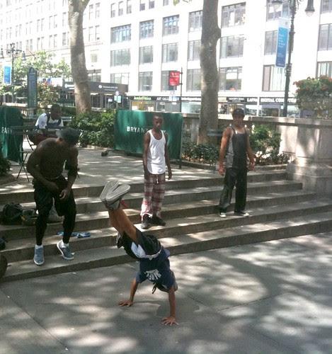 Dancers-acrobats, 42nd St.
