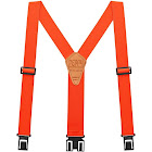 "Perry Hook-On Belt Suspenders Regular - The Original - Orange - 2""W x 48""L"