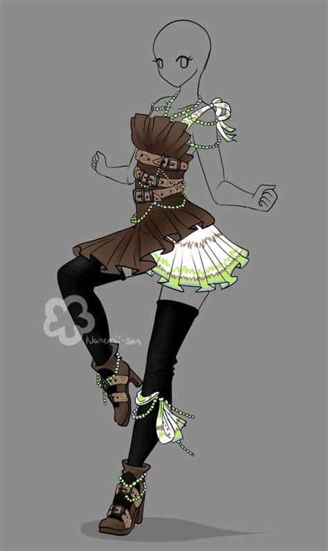 outfit design auction closed  nahemii sandeviantart