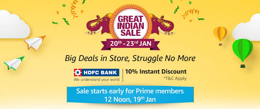 Amazon Great Indian Sale 2019 Offers: See What's Special This Year?