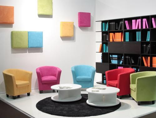 Colorful offices aren't just for creative firms