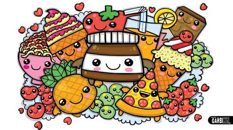 Cute Kawaii Food Wallpaper (57  images)