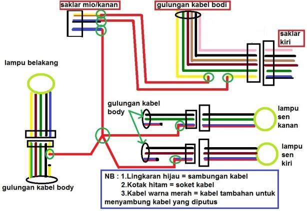 Aki Cara Pada Pasang Motor Tambahan Sambungan Adalah Pada Diagram Diatas Untuk Tua Lingkaran