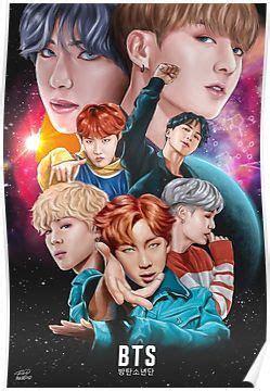bts dna fan art poster bts fanart bts wallpaper bts fans