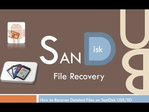 [Video Tutorial] How to Recover Deleted Files from SanDisk USB/SD Memory Card