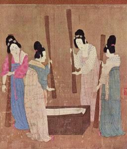 Batido de la seda (China, siglo XXVII a. C.)