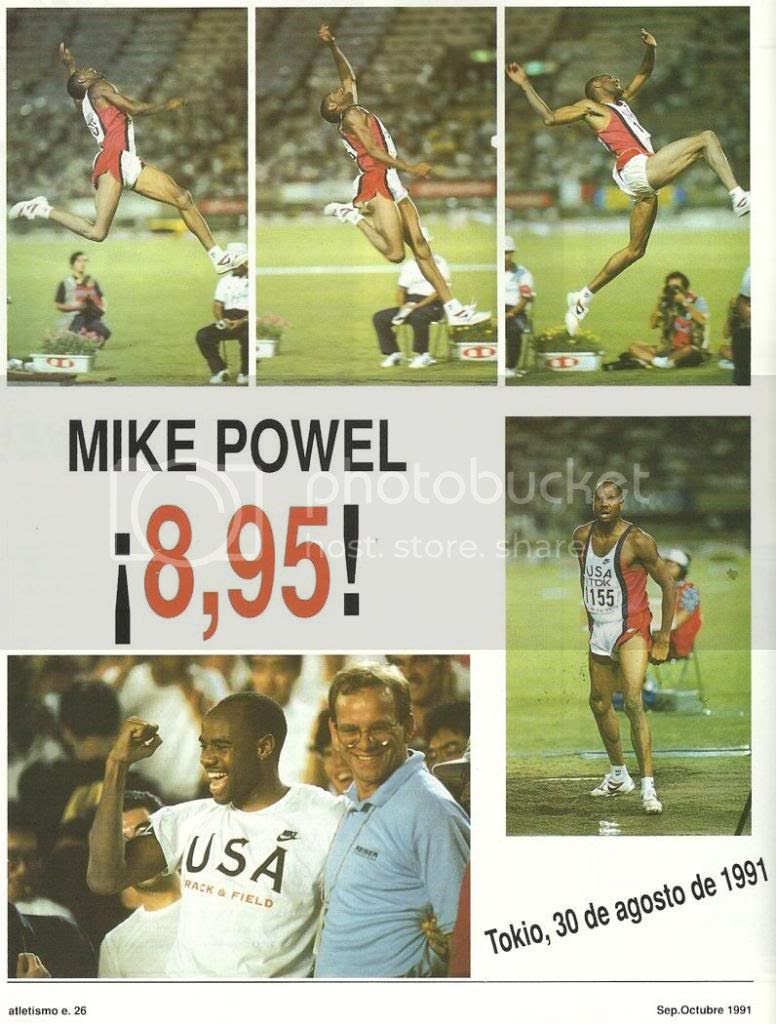 mike powell tokyo Pictures, Images and Photos