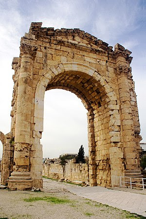 The Triumphal Arch in Tyre, Lebanon