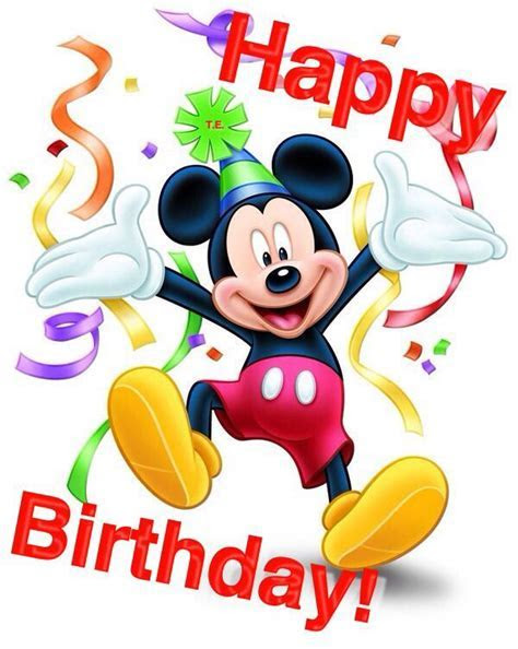 Mickey Mouse Happy Birthday Quote Pictures, Photos, and