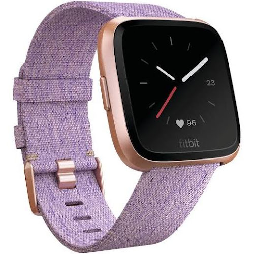 Fitbit Versa - Smart Watch with Heart Rate Monitor - Special Edition - Lavender