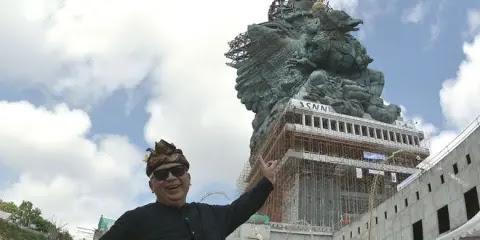 Deretan Potret Kemegahan GWK, Patung Liberty Aja Kalah Dibuatnya