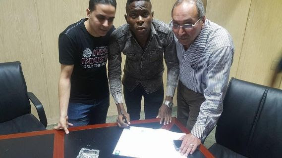 Samuel Nlend Sacked For Testing HIV Positive In Egypt (Photos)