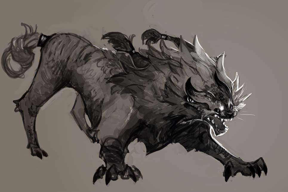 Dreadon - monster concept   Art Amino