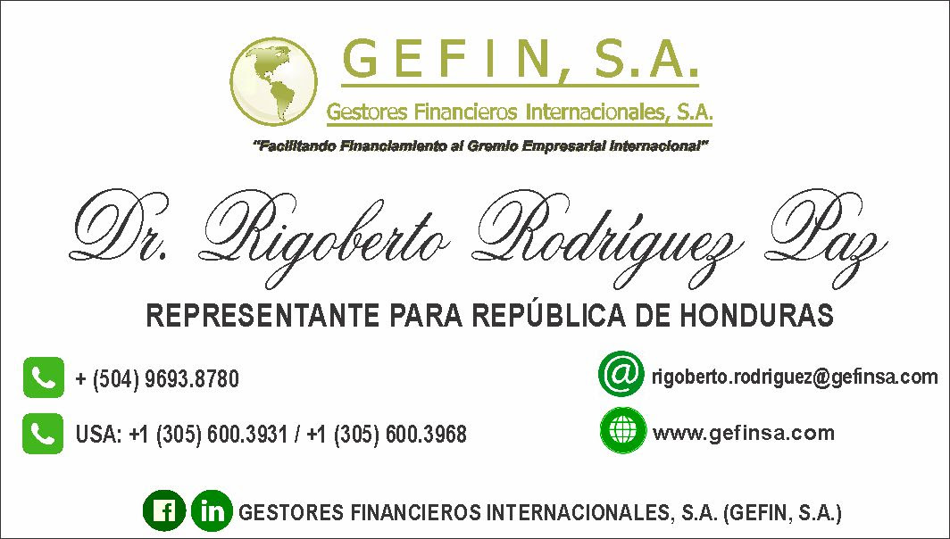 HONDURAS: (RIGOBERTO RODRÍGUEZ)