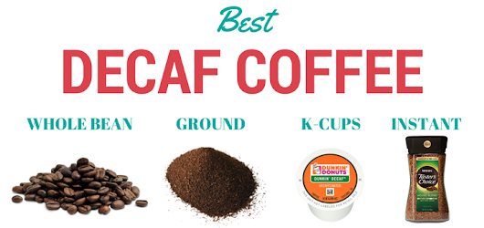 Best Decaf Coffee Beans, Ground, K-cups and Instant with Reviews