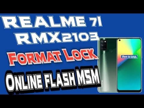 Realme 7i RMX2103/2104 latest flash file download by softichnic
