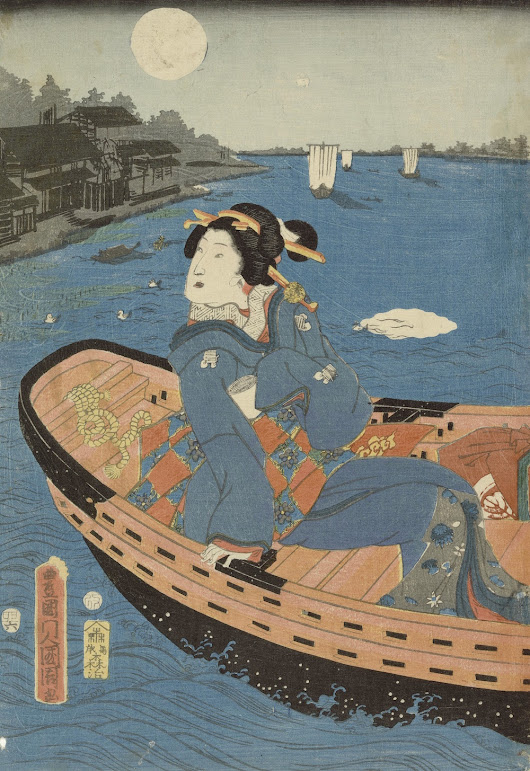Download Hundreds of 19th-Century Japanese Woodblock Prints by Masters of the Tradition
