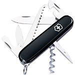 Victorinox SwissArmy Camper Black Multi Tool
