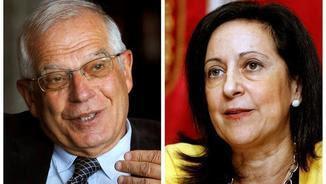 Josep Borrell i Margarita Robles tornen a la primera línia política (EFE)