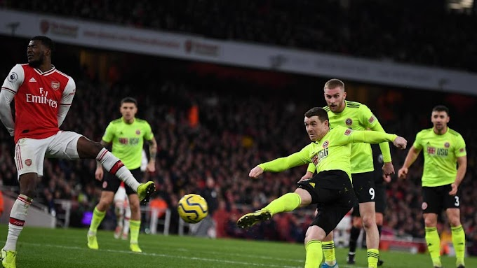 VIDEO: Arsenal 1:1 Sheffield United / Premier league