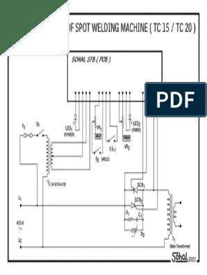 Transformer Welding Machine Diagram