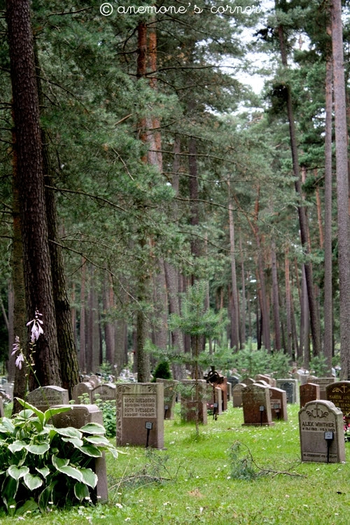Stoccolma: il cimitero del bosco..