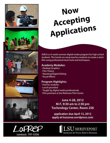 Animation & Visual Effects Academy, LSU Shreveport by trudeau