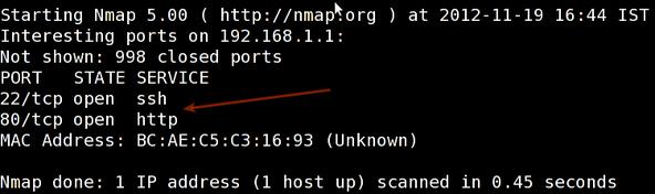 Fig.01: nmap output