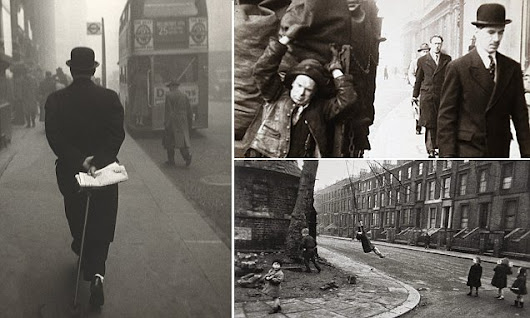 The way things used to be: Incredible pictures of early 1950s London