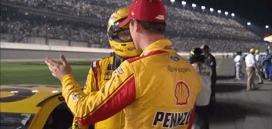 Joey Logano was frustrated with Michael McDowell after the Daytona 500 - Racing News
