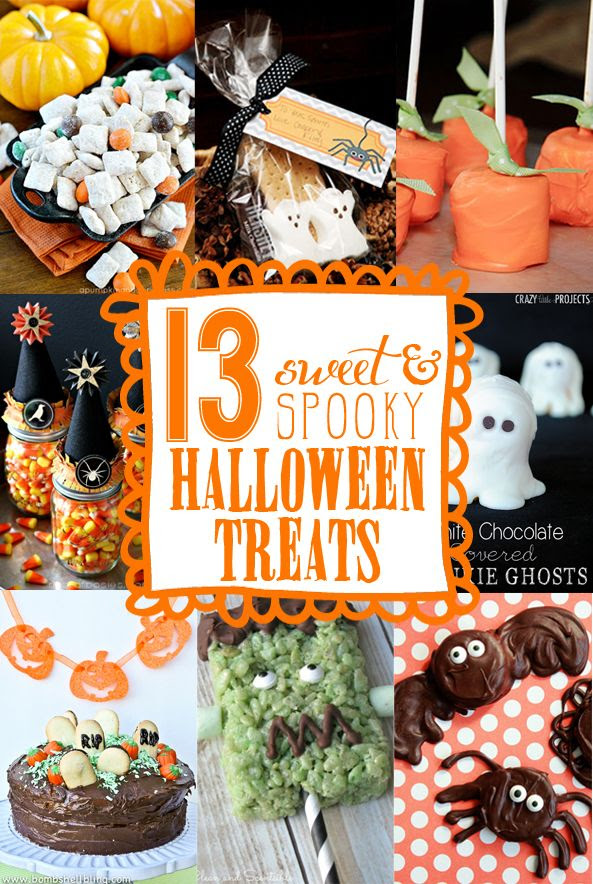 13 Easy Halloween Treats & Snacks - Yellow Bliss Road