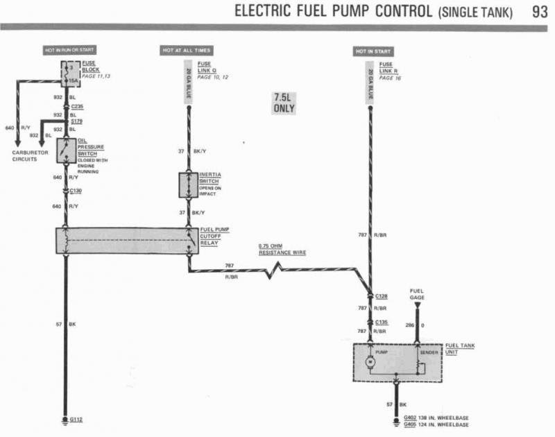 19 Images 1995 Ford F150 Fuel Pump Wiring Diagram