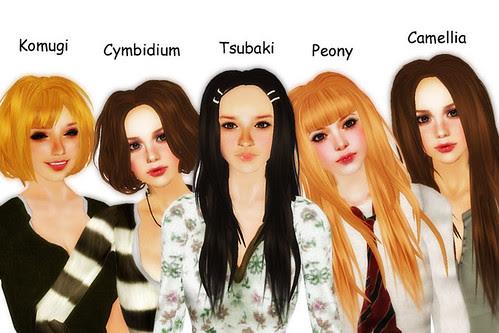 New Hairs by Anywa Nyoki