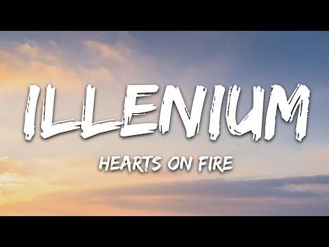 ILLENIUM & Dabin - Hearts On Fire (Lyrics) ft. Lights