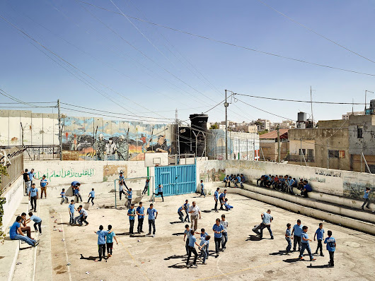Amazing photos show how playgrounds differ around the world