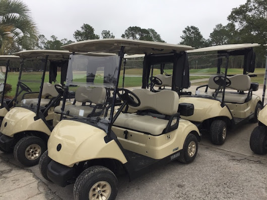 New Yamaha Drive Golf Carts at Quail Heights - Quail Heights Country Club