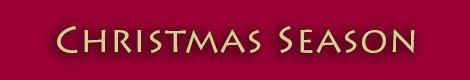 Christmas Season Banner