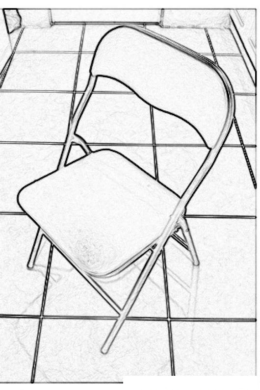 Dibujo De Una Silla Plegable Para Colorear Colorear Dibujos De