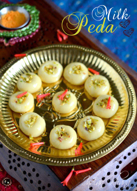 Milk-Peda-Dudh-Peda-Recipe-Diwali-Sweets