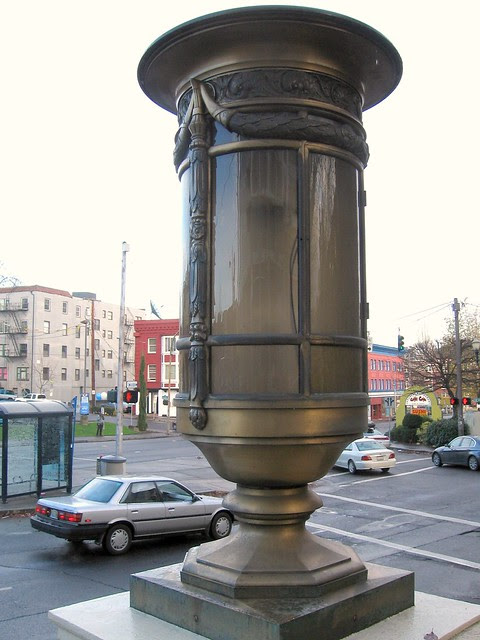 lantern, portland firefighters park