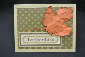Be Thankkful