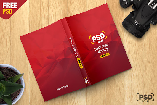 Book Cover Mockup Free PSD - PSD Zone